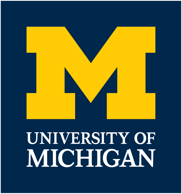 Primary Logo with outline - University of Michigan