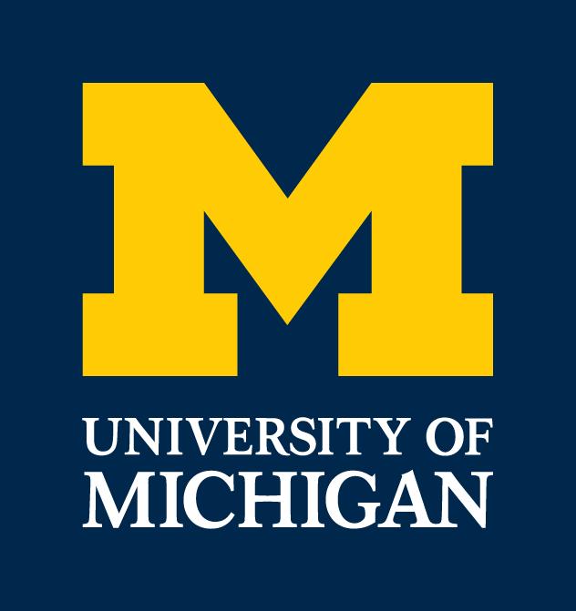 U-M primary logo
