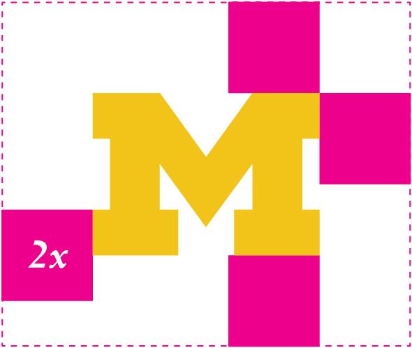 Secondary mark for the U-M logo